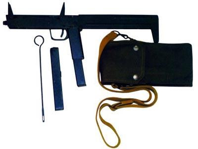 9-мм пистолет-пулемет ПП-90 (в комплекте) (СССР)