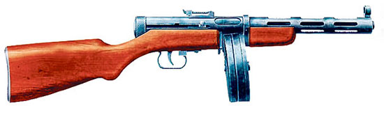 7,62-мм пистолет-пулемет системы Дегтярева обр. 1940 г. (ППД-40)