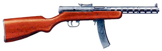 7,62-мм пистолет-пулемет Дегтярева обр. 1934 г. (ППД-34)