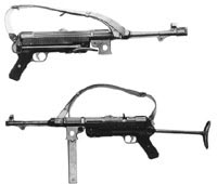 Предсерийный образец пистолета-пулемета МР.38 1938 года выпуска (из германского наставления 1938 года)