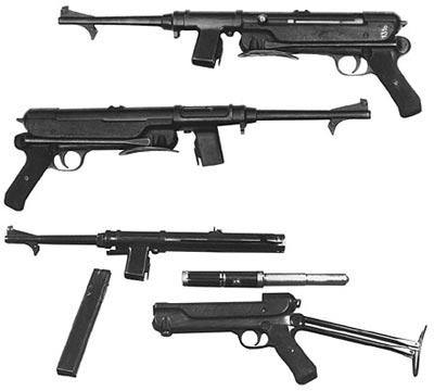 9-мм пистолет-пулемет ERMA ЕМР. 36