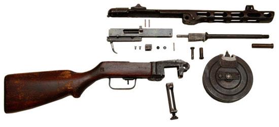 7,62-мм пистолет-пулемет системы Шпагина обр.1941 г. (ППШ-41)
