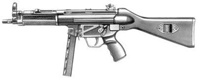 9-мм пистолет-пулемет МР.5 А2