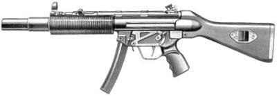 9-мм пистолет-пулемет МР.5 SD