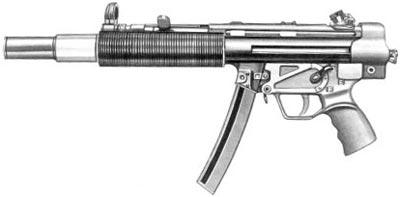 9-мм пистолет-пулемет МР.5 SD1