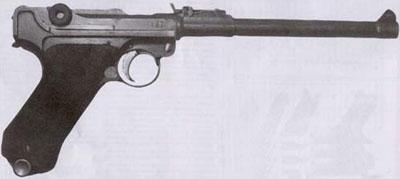 9-мм самозарядный пистолет системы Борхарра-Люгера обр. 1913 г. («Парабеллум», артиллерийская модель)