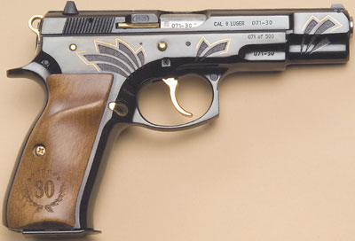 CZ 75B LIMITED EDITION