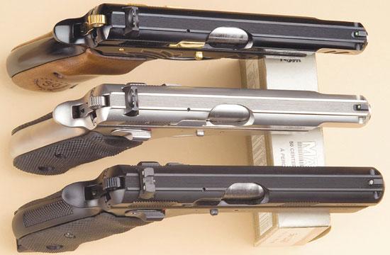 Пистолеты серии CZ75