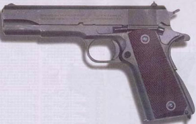 11,43-мм самозарядный пистолет «Кольт» образца 1911 г