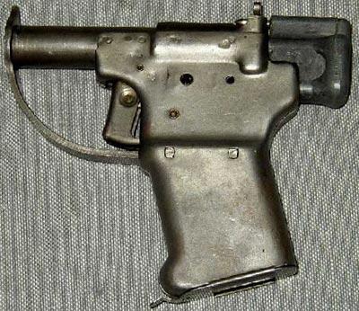 Однозарядный пистолет Liberator калибра .45АСР, разработанный в США для европейских партизан в ходе Второй Мировой войны