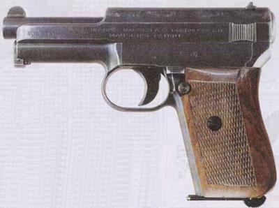 7,65-мм самозарядный пистолет «Маузер» обр. 1910 г.