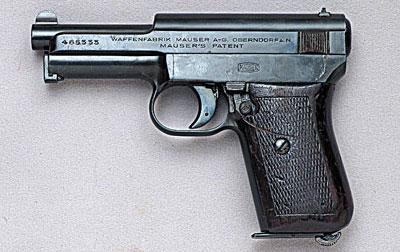 7,65-мм пистолет Маузер М.1914. Германия