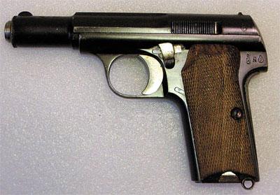 7,65-мм пистолет Астра Модель 300. Испания