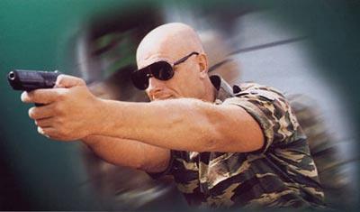 Стрельба из 9-мм спортивно-тренировочного пистолета МР-445С «Варяг»