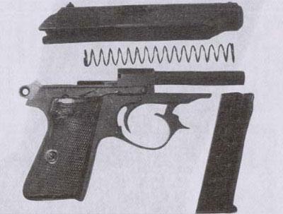 7,65-мм пистолет «Вальтер» РР (Polizeipistole)