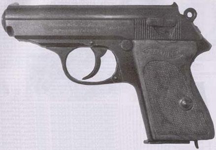 7,65-мм пистолет «Вальтер» РРК (Polizeipistole-Kriminal-Modell)
