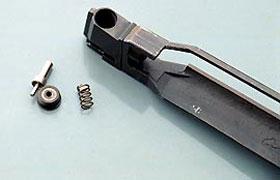 Конструкция клапанного устройства предельно проста - все детали, как на ладони