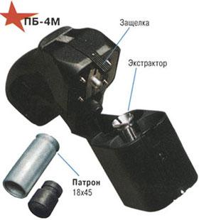 Пистолеты ПБ-4М