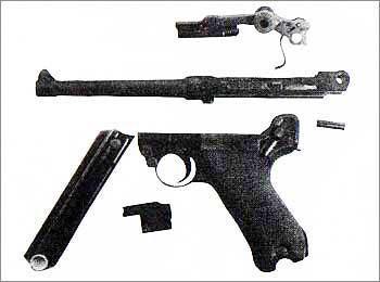 9-мм пистолет системы Борхардта-Люгера обр. 1904 г