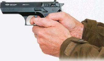 Пистолет пневматический Gletcher JRH941 (Jericho 941)