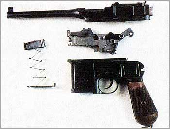 Самозарядный пистолет «Маузер» K-96
