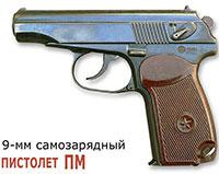 9–мм самозарядный пистолет ПМ