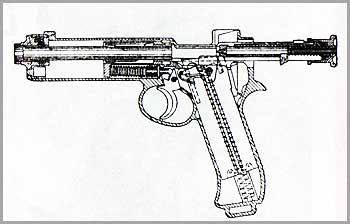 8-мм самозарядный пистолет «Рота» обр. 1907 г