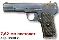 7,62-мм пистолет системы Токарева обр. 1930 г