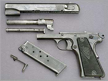 9-мм армейский самозарядный пистолет «VIS»