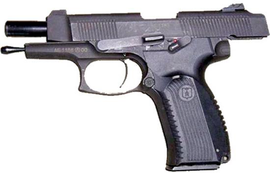 Пистолет ПЯ на затворной задержке