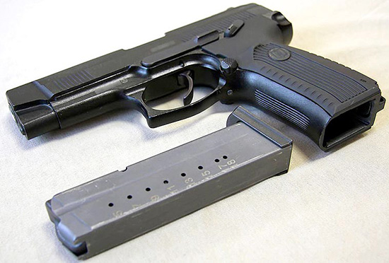 9-мм пистолет Ярыгина – ПЯ