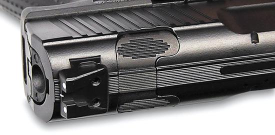 Клавиша снятия ударника с боевого взвода