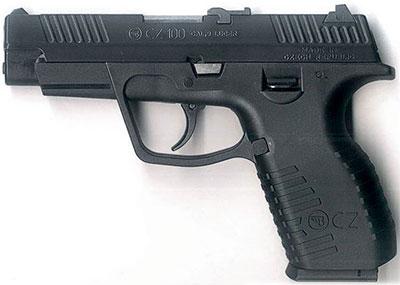 CZ 100. Первый пистолет компании Ceska Zbrojovka с полимерной рамкой (1995 год). Полная масса – 680 г