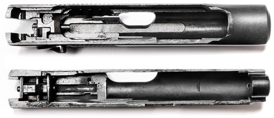 Затвор ПМФ-1 практически не изменился — в отличие от ПТФ-1