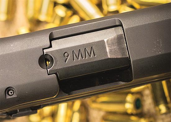 Реализация индикатора наличия патрона в патроннике у M&P9 неудобна при недостатке освещения
