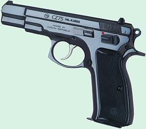 9-мм пистолет CZ-75