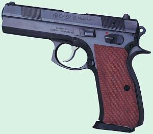 9-мм пистолет CZ-97B
