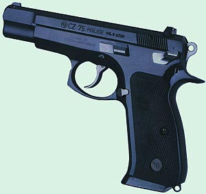 9-мм пистолет CZ-75 Police
