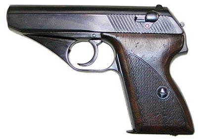 7,65-мм пистолет «Маузер» HSc