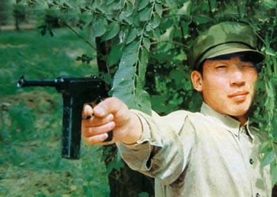 Стрельба из автоматического пистолета тип 80