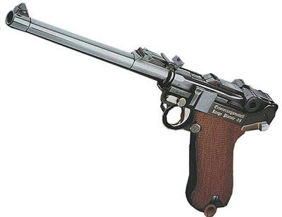 9-мм пистолет «Парабеллум» P.08 Lange