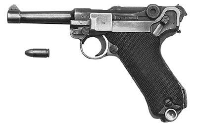 9-мм пистолет «Парабеллум» Р.08 выпуска 1916-1918 годов