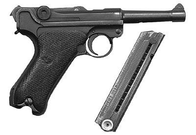 9-мм пистолет «Парабеллум» Р.08 выпуска 1939-1942 годов