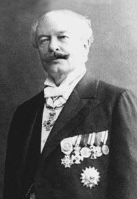 Георг Люгер (1849-1923), конструктор пистолета Борхардта-Люгера «Парабеллум»