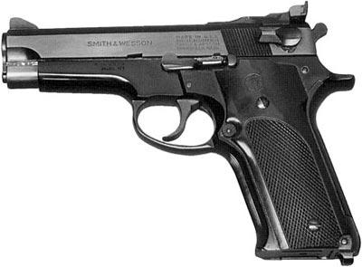 9-мм пистолет Smith & Wesson M 59 (спортивный вариант)