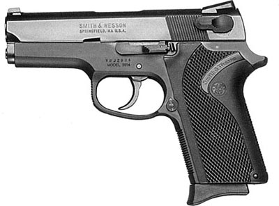 9-мм пистолет Smith & Wesson M 3914 LS (Ledysmith)