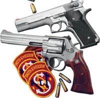 Smith & Wesson на службе в Федеральном Бюро Расследований США