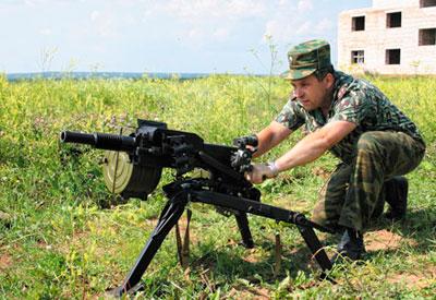 Правила стрельбы из АГС-17