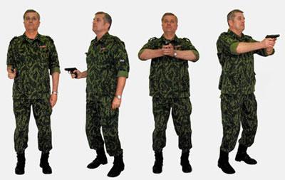 Система тактической стрельбы: хват оружия в исходной стойке