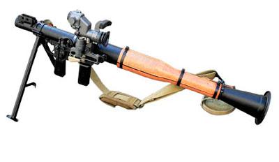 Ручной противотанковый гранатомет РПГ-7В2 с выстрелами: ПГ-7ВС; ПГ-7ВЛ; ОГ-7В